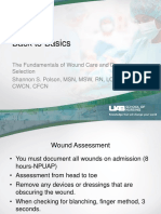 Back to Basics Fundamentals of Wound Care and Dressing Selection Spring Workshop Copy