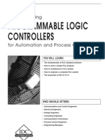 Programmable Logic Controllers (PLCs) for Automation and Process Control