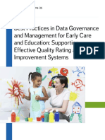 Best Practices in Data Governance and Management
