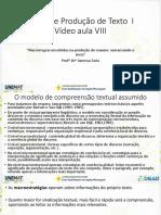 VA 8 - Macrorregras Envolvidas Na Produção Do Resumo