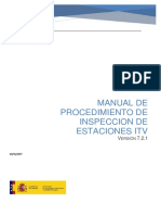 Manual de Procedimiento de Inspeccion de Estaciones ITV v721 Oct 2017