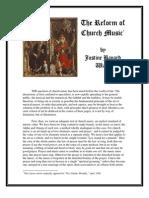 Ward on Sacred Music Reform