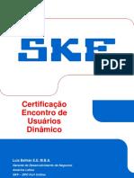 Certificação Encontro Usuários Baker Dinamico-Tr