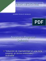 Regional Anestesia