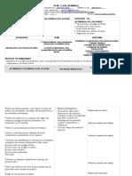 Plan de Clase. ICS. Sem. 9