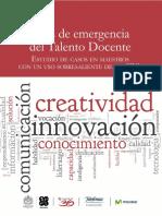 Informe Ejecutivo Rutas de Emergencia Del Talento Docente Feb 25