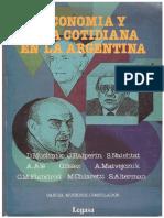 Economia y La Vida Cotidiana en Argentina D.muchnick