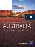 Lonely Planet, Journeys to Authentic Australia