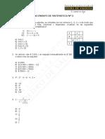 1170-Mini Ensayo N°5 Matemática