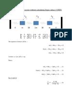 Solving 3DOF problem withour finding eigen value