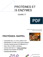 Cours 17-ProteinesEnzymes Etudiants