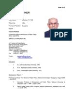 CV Mukul G. Asher