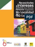 Intereses y Necesidades LGBT localidad Candelaria