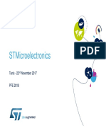 STMicroelectronics PFE2018 Catalog v1