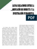 Bf Skinner - Algunas Relaciones Entre La Modificación de Conducta y La Investigación Fundamental