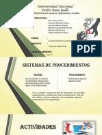 Sistemas de Procedimientos