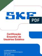 Certificação Encontro Usuários Baker-Tr