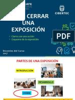 S12-Cómo cerrar una exposición- HHCCI- 2017-I.pptx