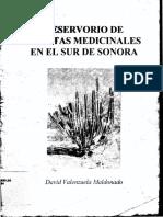 Reservorio de Plantas Medicinales Del Sur de Sonora