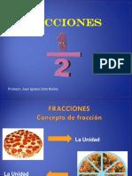 Concepto de Fracciones
