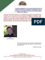 15.11.2017 Ariel s. Levi Di Gualdo Padre Ariele Eletto Arcivescovo Di Napoli.