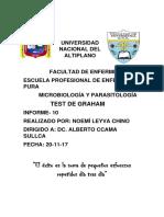Informe GRAHAM 1