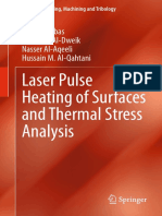 Laeser Pulse Heating of Surfaces and Thermal Stress Analysis_BYilbas