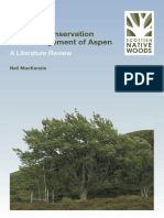 Ecology, Conservation and Management of Aspen - Scottish Aspen - Review 2010-74938