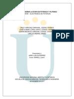 203039_9 Fase 3 - Diseñar La Etapa de Potencia y Filtrado