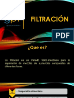 Filtración Unidad 4