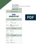 Copa Mundial de Fútbol 2017