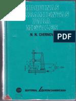 Máquinas Herramientas Para Metales - N. N. Chernov - 1ra Edición
