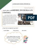 Guia Texto Informativos Noticia y Aviso