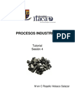 Procesos Industriales Sesión 4