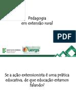 Pedagogia Em Extensão Rural