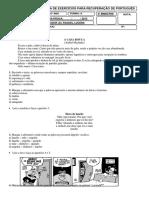 6ano Revisão Letra Fonema d[Igrafos e Encontros