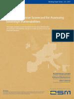 A Comprehensive Scorecard for Assessing Sovereign Vulnerabilities