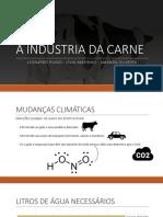 A Industria Da Carne