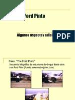 El Caso Ford Pinto - Algunos Aspectos Adicionales
