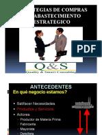 Estrategias de Compras y El Abastecimiento Estrategico