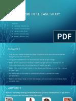 Barbie Doll Case Study