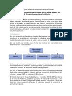 Desarrollo Del Modelo de Campo de La Salud de Lalonde
