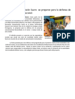 Noticia - Estudiantes de la Misión Sucre se preparan para la defensa de un proyecto comunicacional