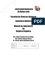 Manual de Organica Con Procedimientos Indicados