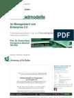 Präsentation - Reifegradmodelle im Management von Enterprise 2.0