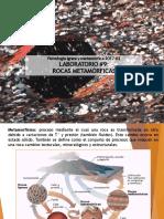 Lab#9 Rocas Metamórficas