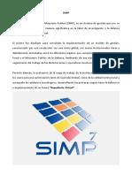 SIMP - Contenidos Teóricos