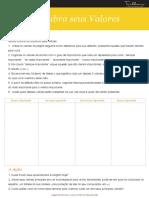 PROGRAMATRILHAS - Folha de Exercicios - Valores