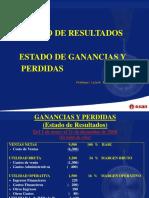 GANANCIAS YPERDIDAS Emp. Manufacturera