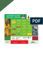 Calendario Estatal 2010-2011